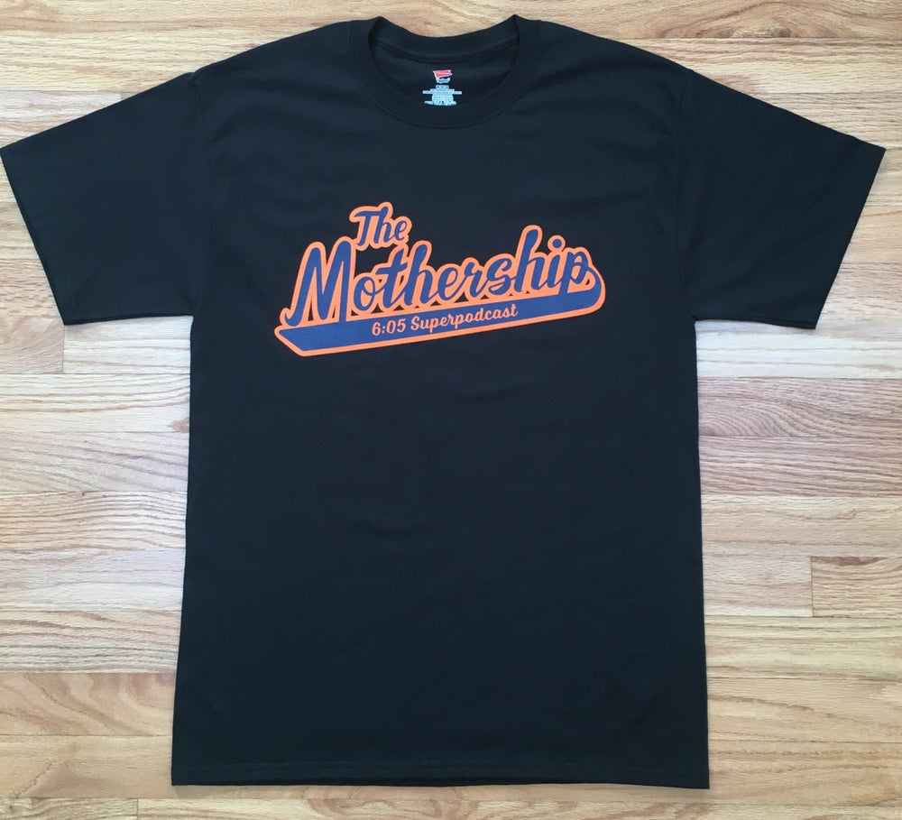 Image of The Mothership Logo Shirt (Black)