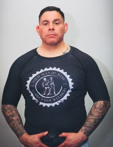 Image of OMJJ Black Short Sleeve Rashguard
