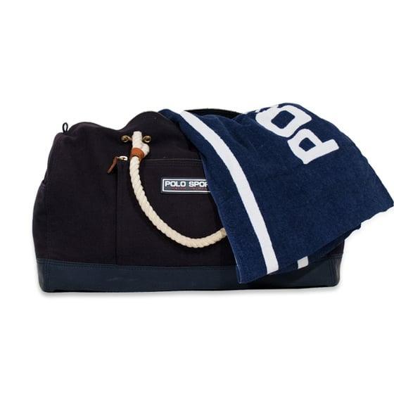 Image of Polo Sport Ralph Lauren Vintage Duffel Beach Bag