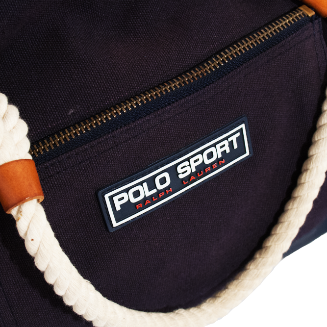 Image of Polo Sport Ralph Lauren Vintage Duffel Beach Bag