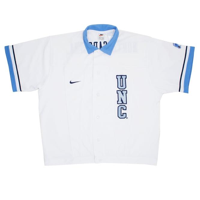 Image of Nike North Carolina Vintage Track Jacket Size M