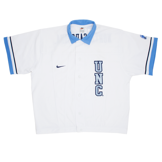 Image of Nike North Carolina Vintage Track Jacket Size M
