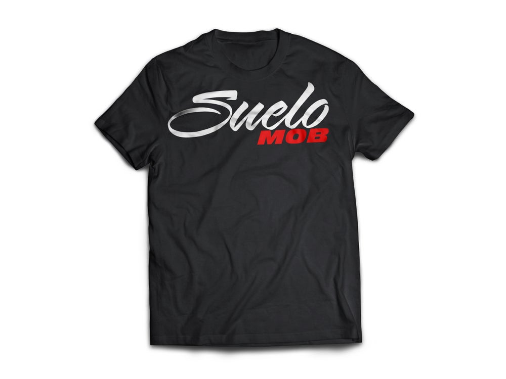 Image of Black OG SueloMOB Tee
