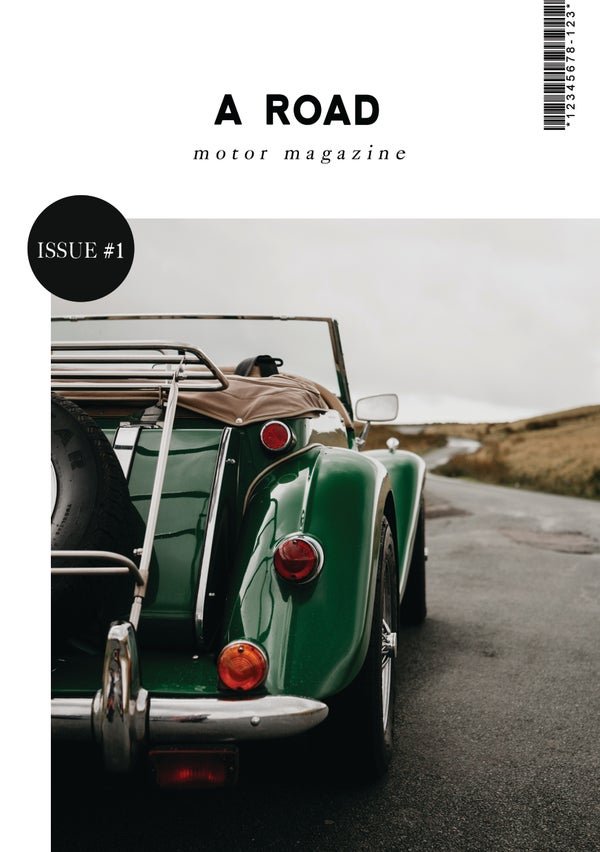 Image of A Road Issue 001
