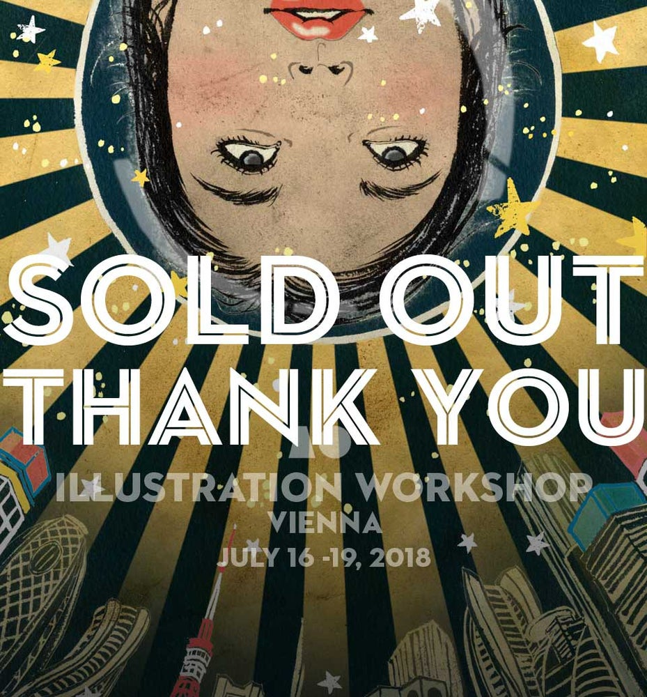 Image of SOLD OUT: 4 day illustration summer workshop in Vienna, Austria
