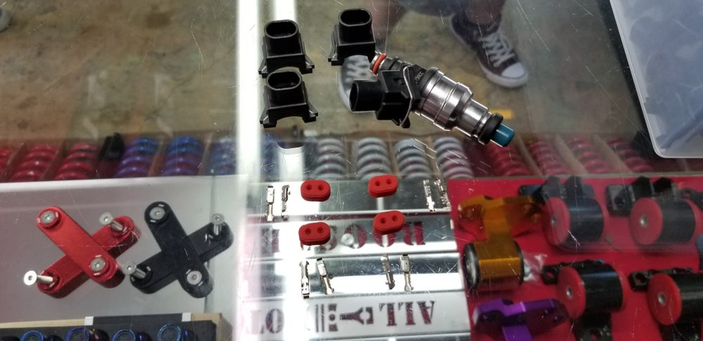 Image of Quick Release OBD1 Injection Plugs x4