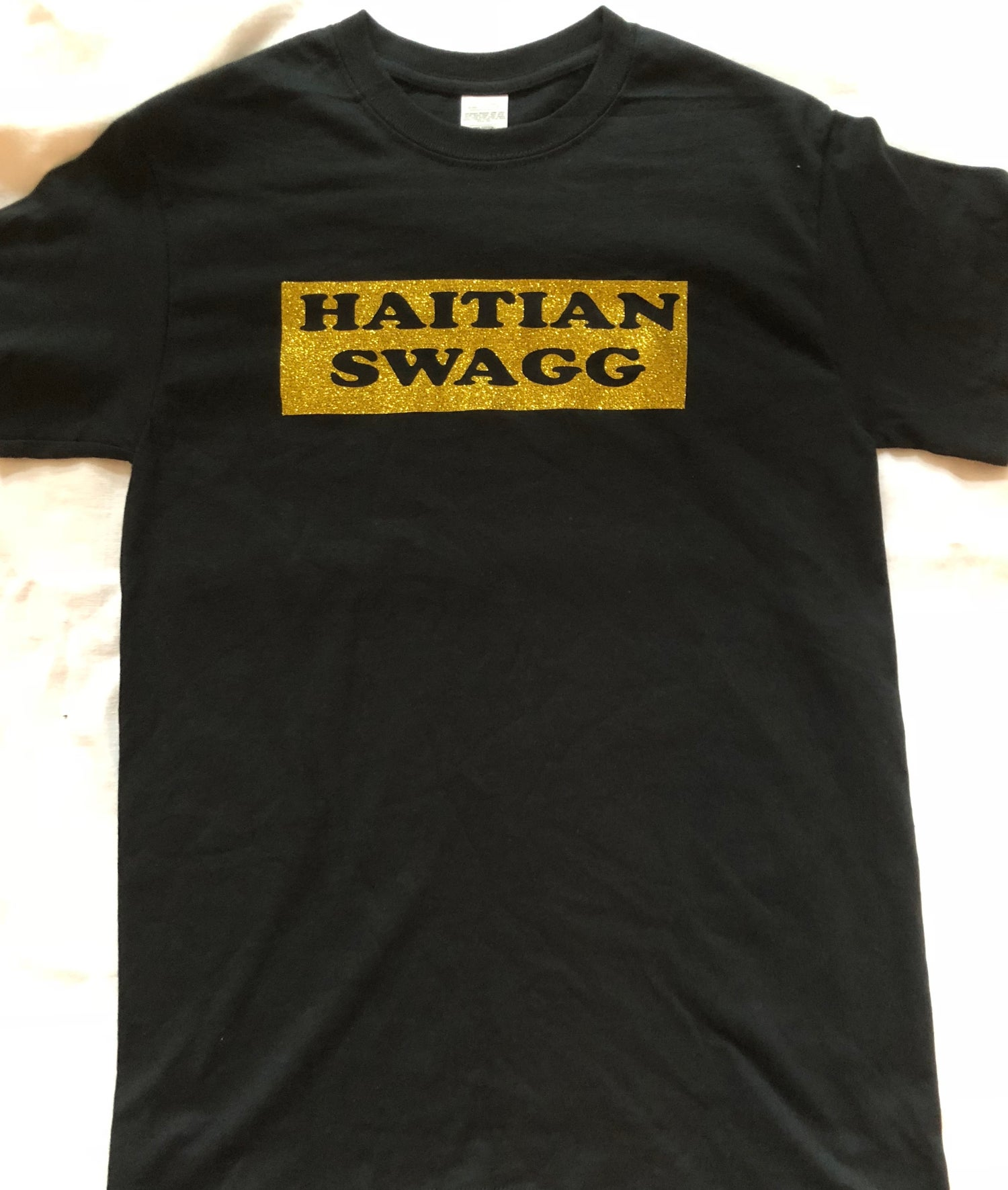 Image of Black and Gold Haitian Swagg