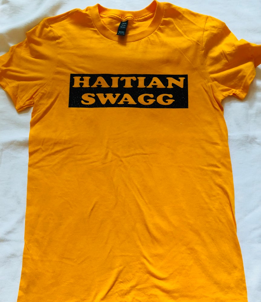 Image of Black and Yellow Haitian Swagg
