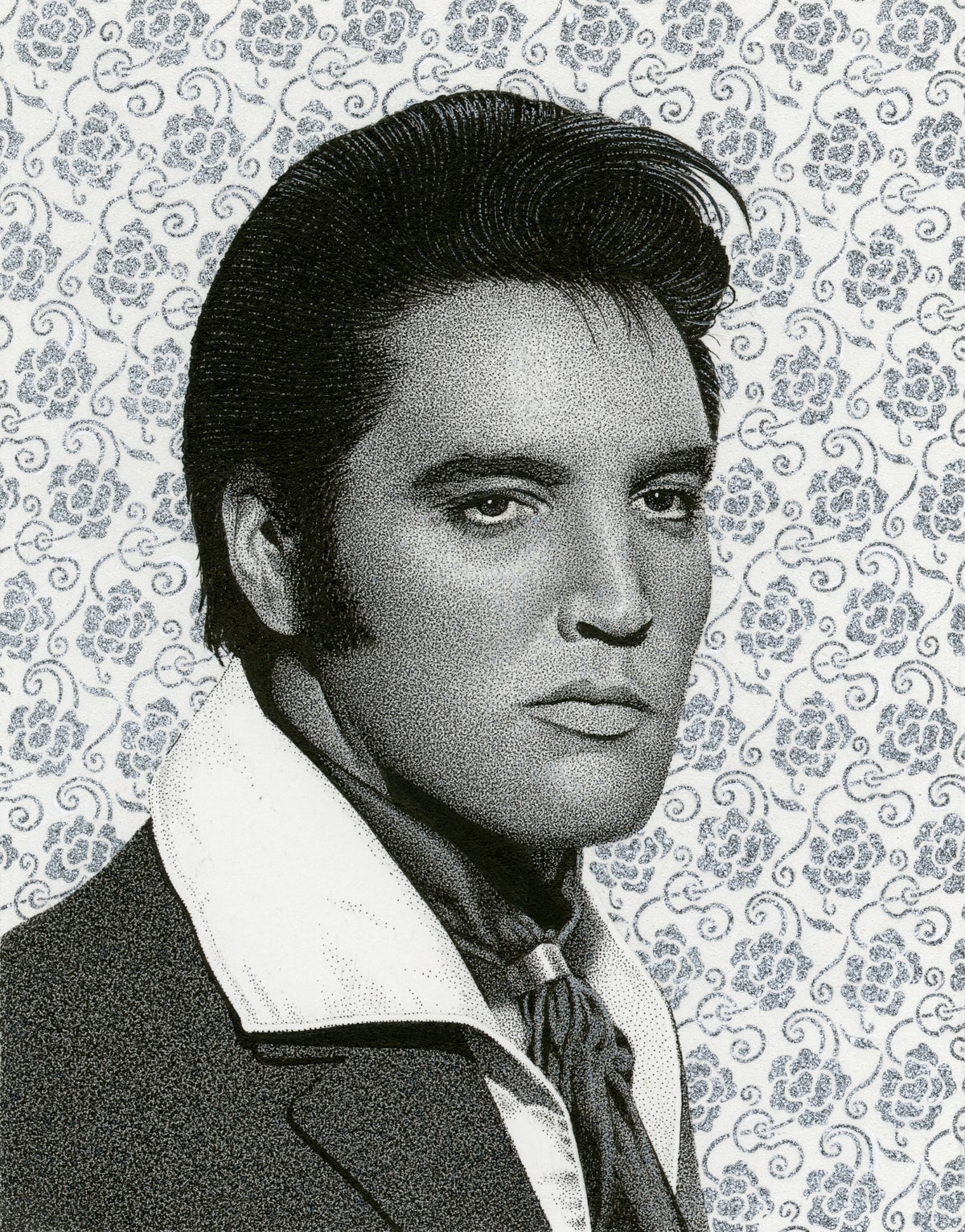 Image of ELVIS PRESLEY ink original