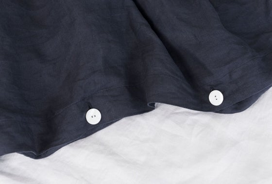 Image of Midnight Blue Duvet