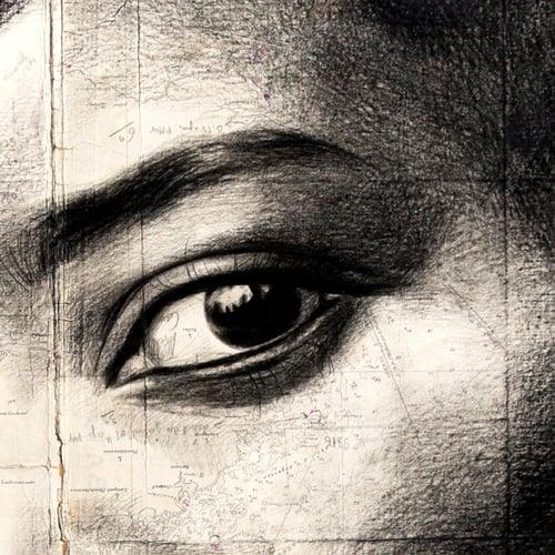 "Image of Paper Art Print - ""Kobown"""