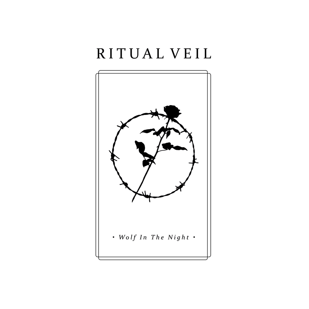 "Image of RITUAL VEIL - Wolf In The Night 12"" EP"