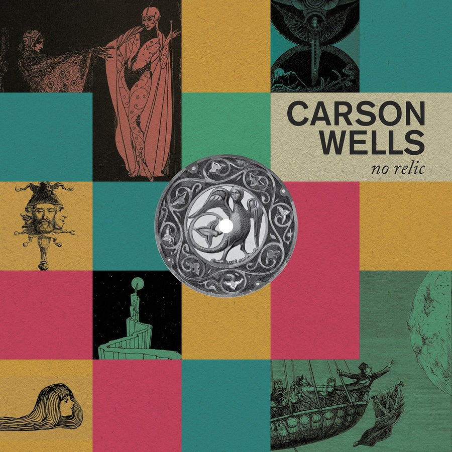 "Image of BRR045: Carson Wells - No Relic 12"" album"