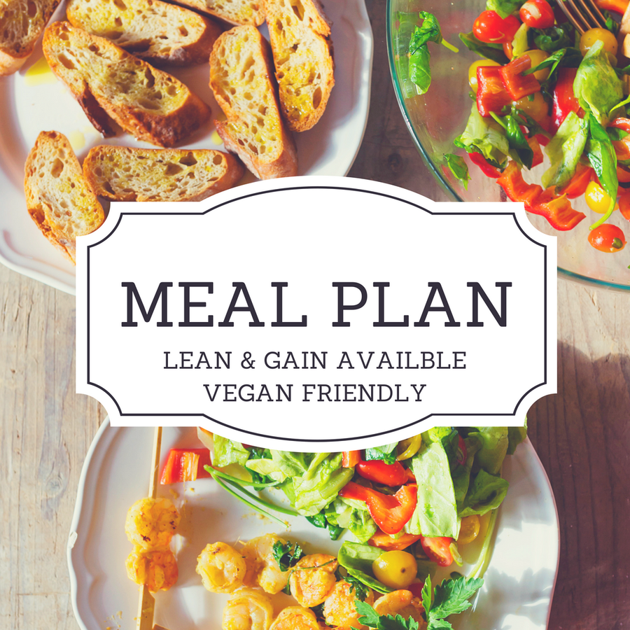 Image of MEAL PLAN (LEAN & GAIN AVAILABLE)