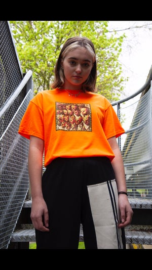 "Image of Safety Orange "" THE BECOMING""  T-Shirt"