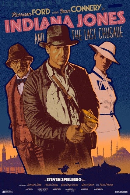 Image of Indiana Jones And The Last Crusade by Jack Durieux
