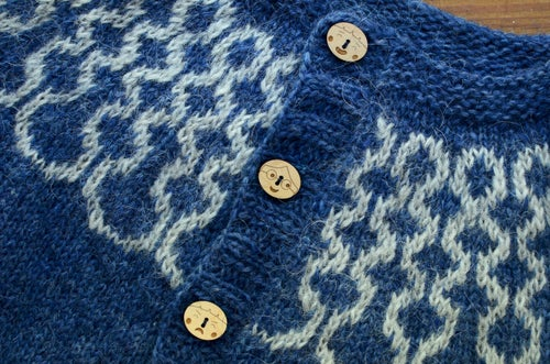 "Image of ""Our Friends"" Walnut Buttons by Hello Yarn Bee - Large"