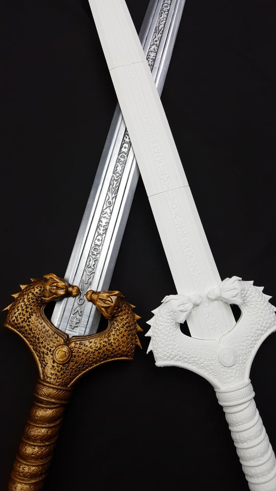 Image of Wonder Woman God Killer Replica Cosplay Sword, 3D Printed DIY Kit