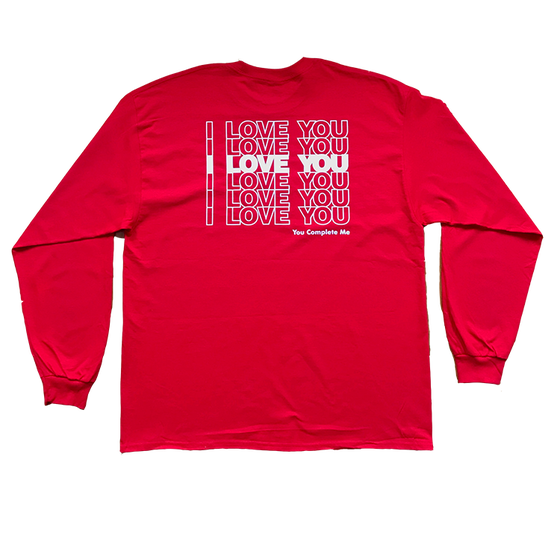 Image of I LOVE YOU Long Sleeve Tee