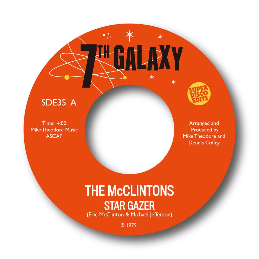"""The McClintons """"star gazer""""/""""dream baby blue"""" 7th Galaxy"""