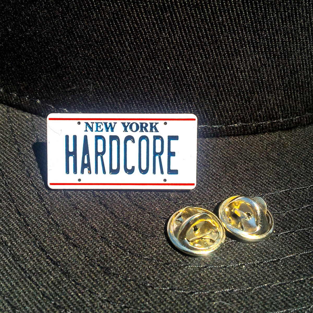 Image of New York Hardcore Enamel Pin