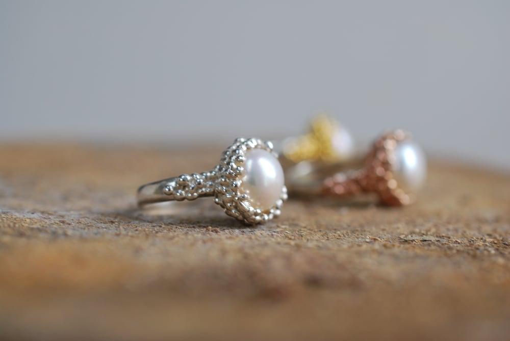 Image of Organica Pearl Rings