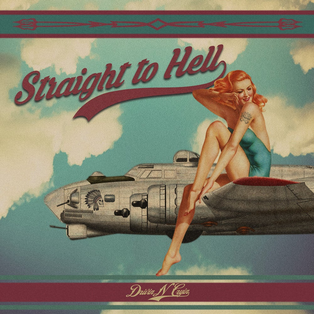 Image of Straight To Hell picture sleeve (sleeve only)