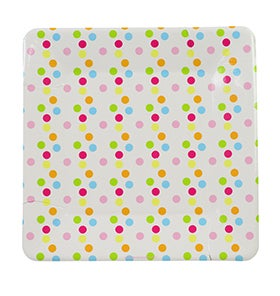 Image of Confetti Large Square Plates
