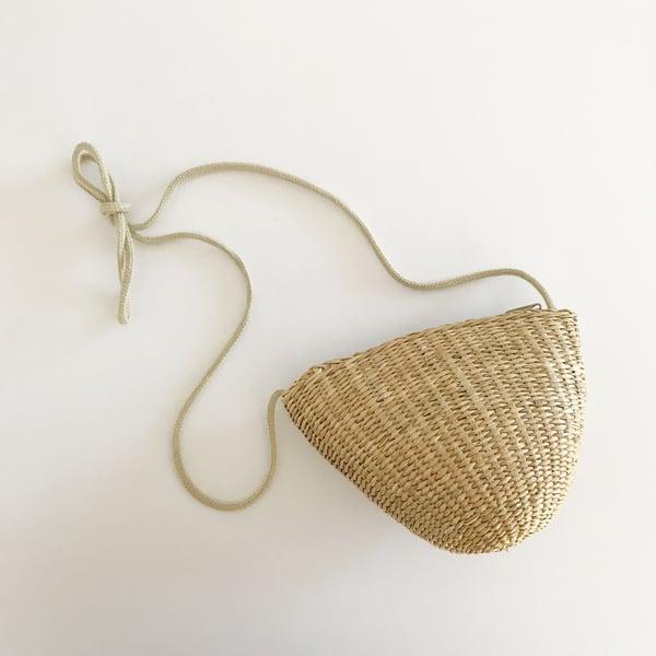 Image of Straw purse