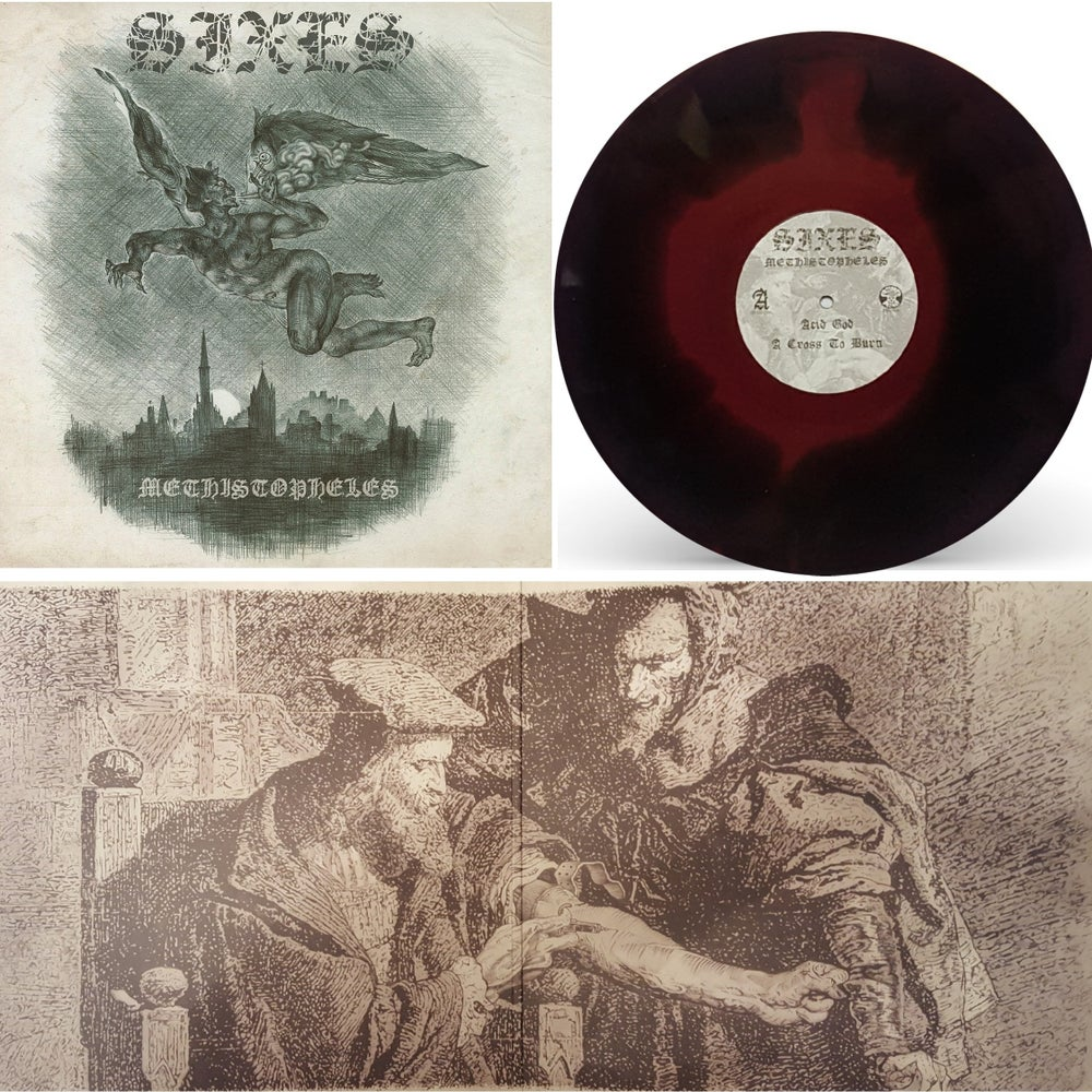 Image of Sixes: Methistopheles: Oxblood/Black merge 250 Copies