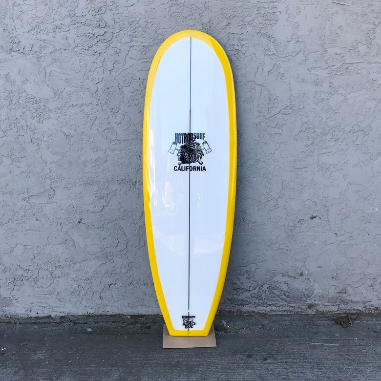 "Image of Bumble Bee 6'4"" Surfboard Longboard by HOT ROD SURF ®  –Yellow"