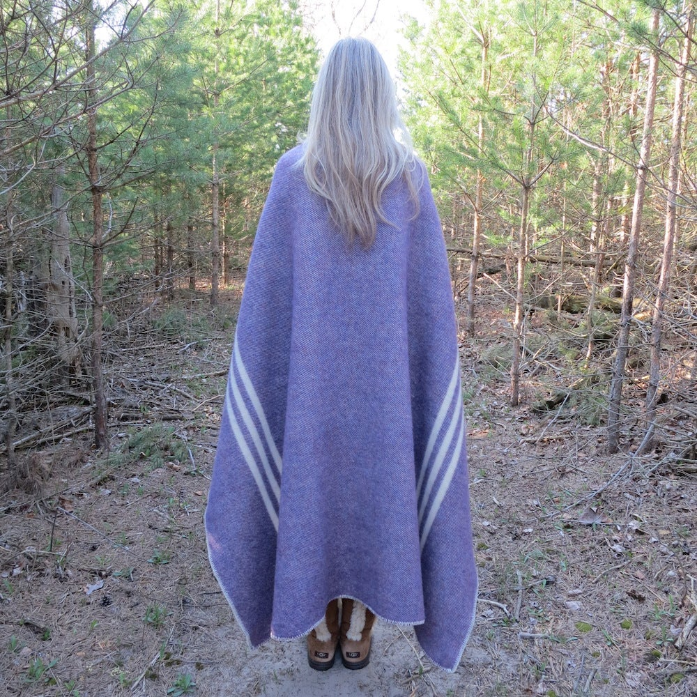 Image of Canadian Wool Blanket - Lap