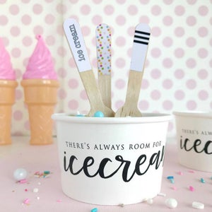 Image of Confetti Ice Cream Spoons