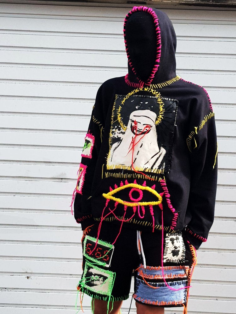 "Image of ""BLOODY MARY"" 1984 BLACK HOODIE"