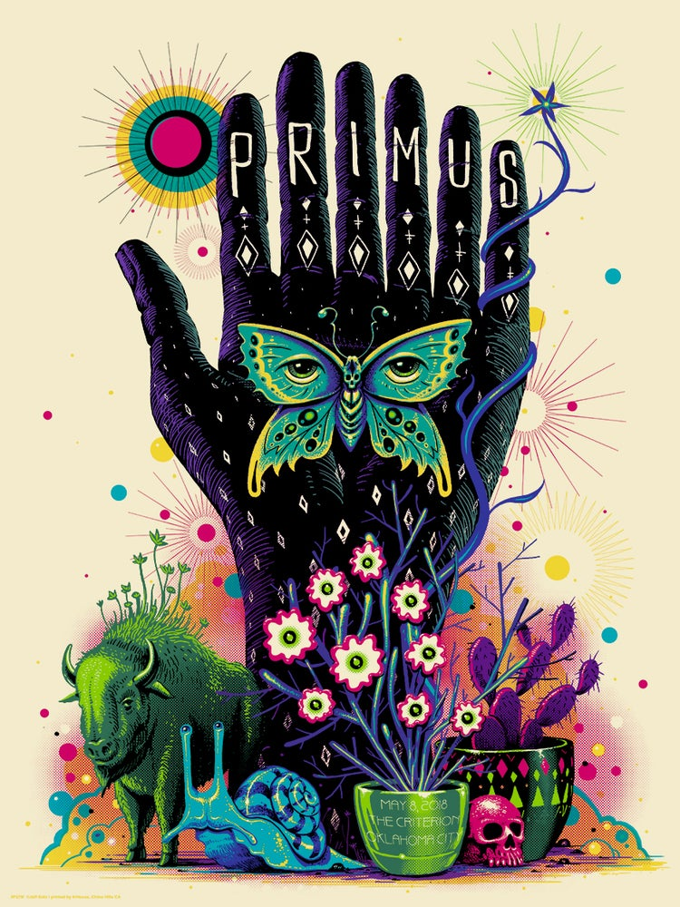 Image of Primus OKC Artist Edition Poster