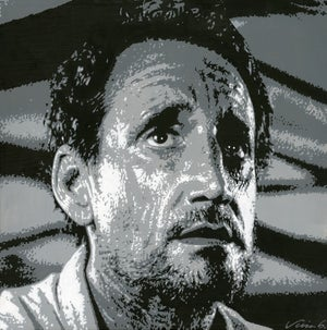 Image of ROY SCHEIDER acrylic painting