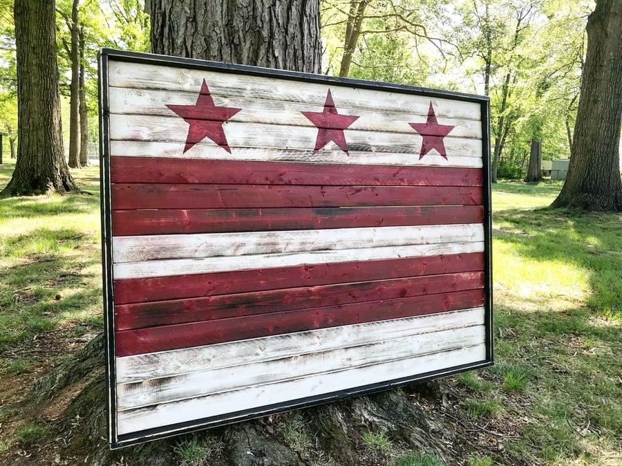 Image of Large Washington DC Flag