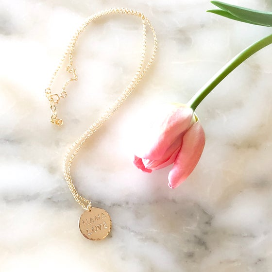 Image of MAMA LOVE Necklace