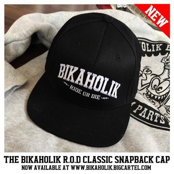Image of Bikaholik R.O.D Classic Snapback Cap