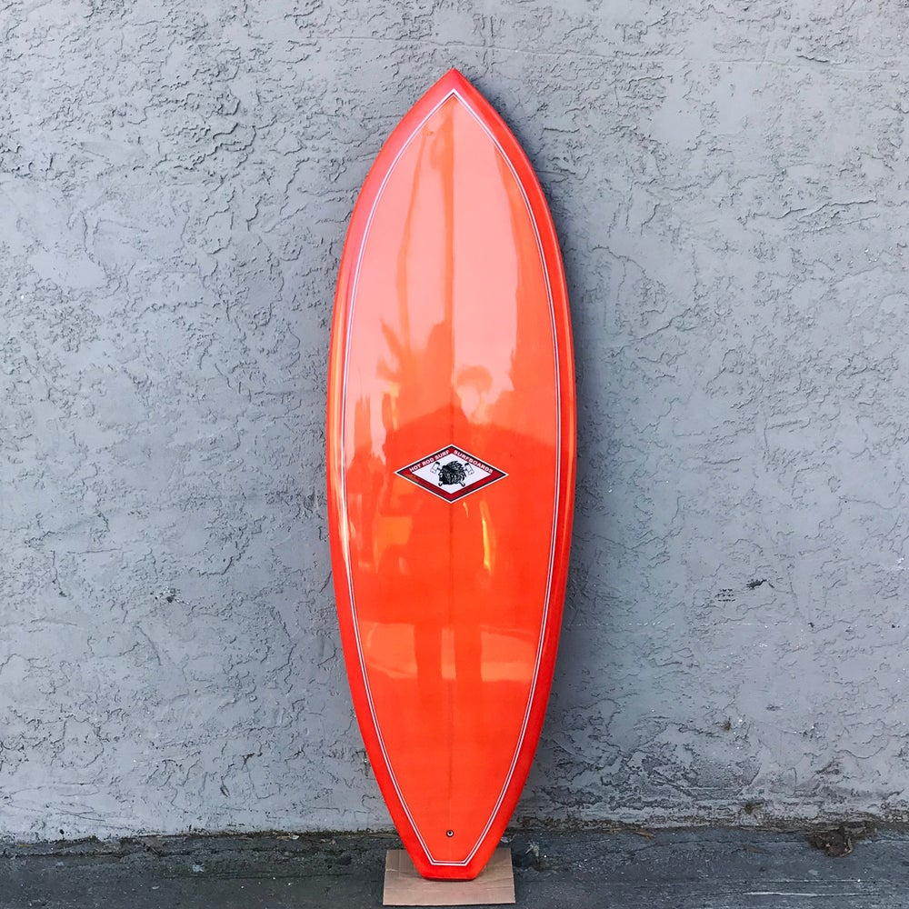 Image of Invaider Surboard by HOT ROD SURF ®  – Orange Resin Tint