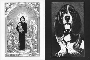 Image of GODS & DOGS portraits art book