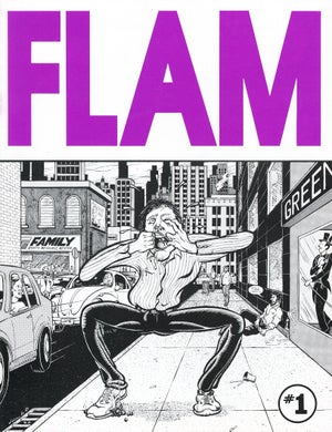 Image of FLAM anthology comic