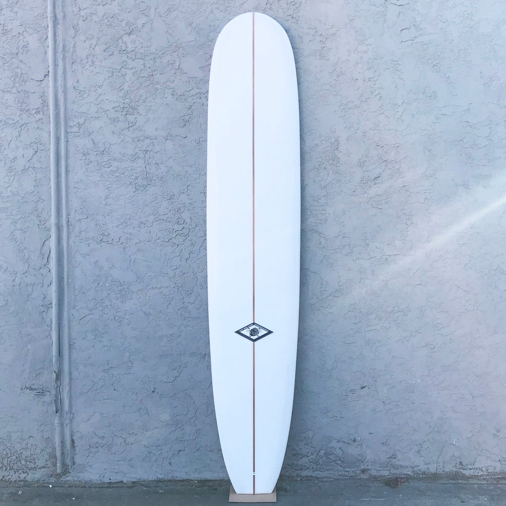 "Image of Tourmaline 9'6"" Surfboard by HOT ROD SURF ®  – White"