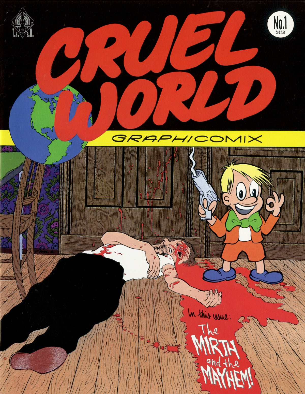 Image of CRUEL WORLD comic