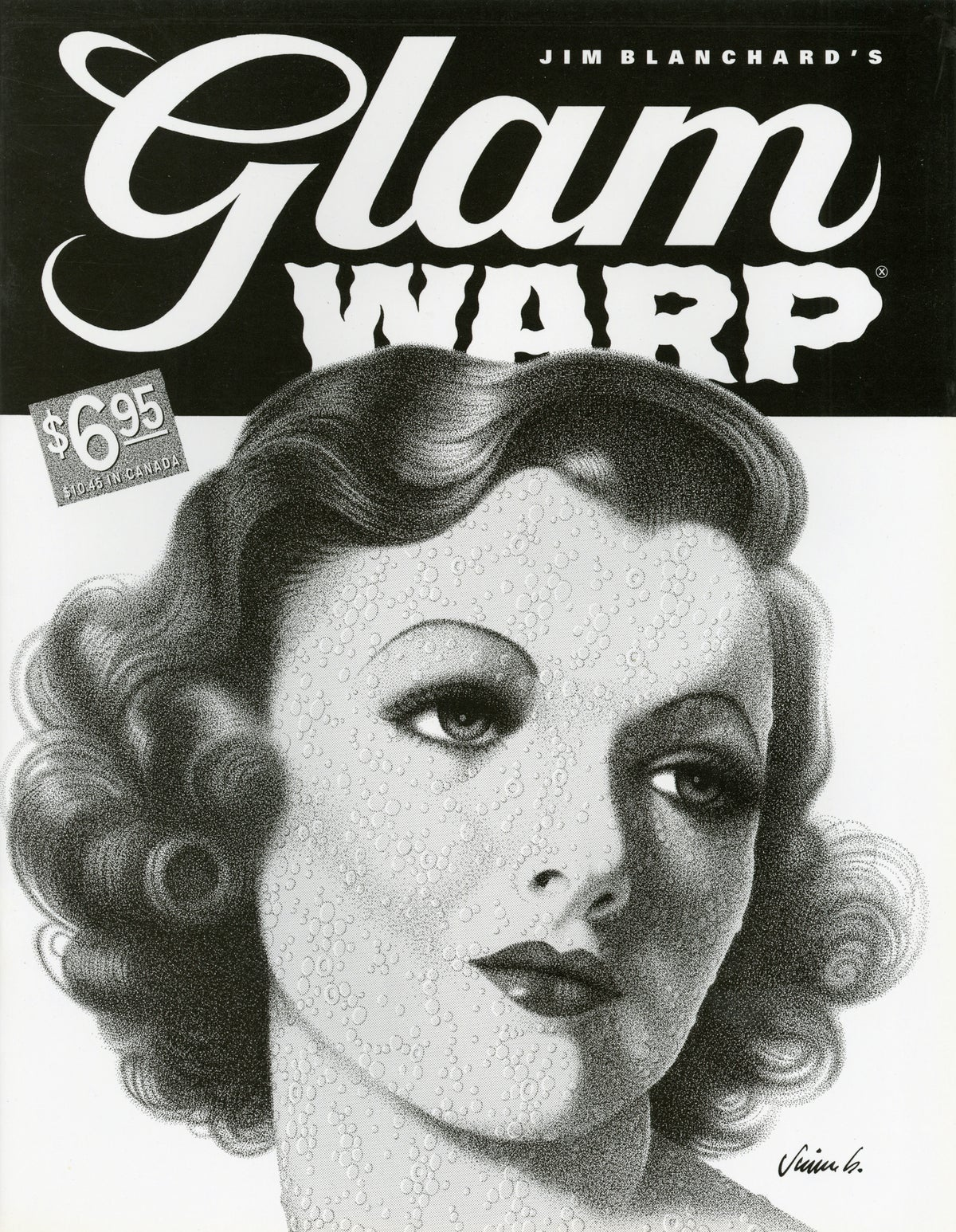 Image of GLAM WARP art book