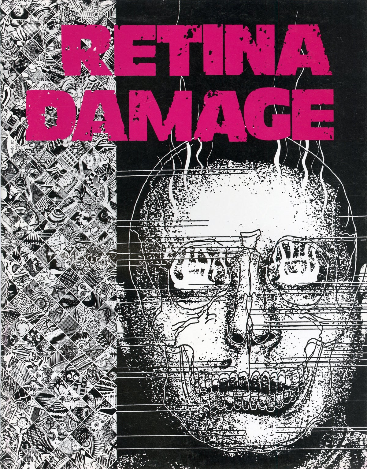 Image of RETINA DAMAGE art book