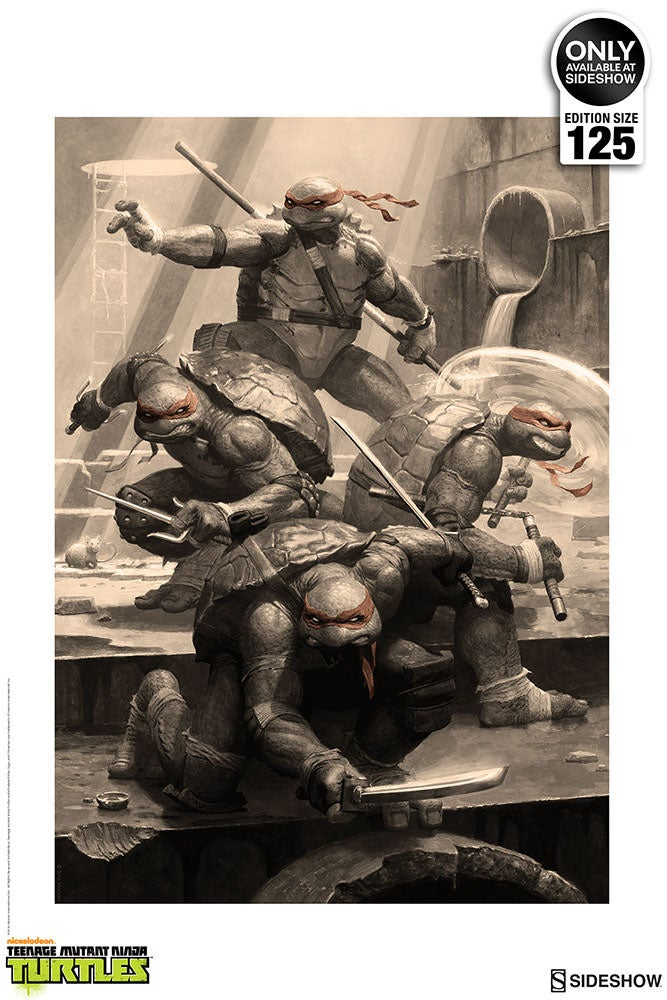 Image of TMNT Premium Art Print (unframed)