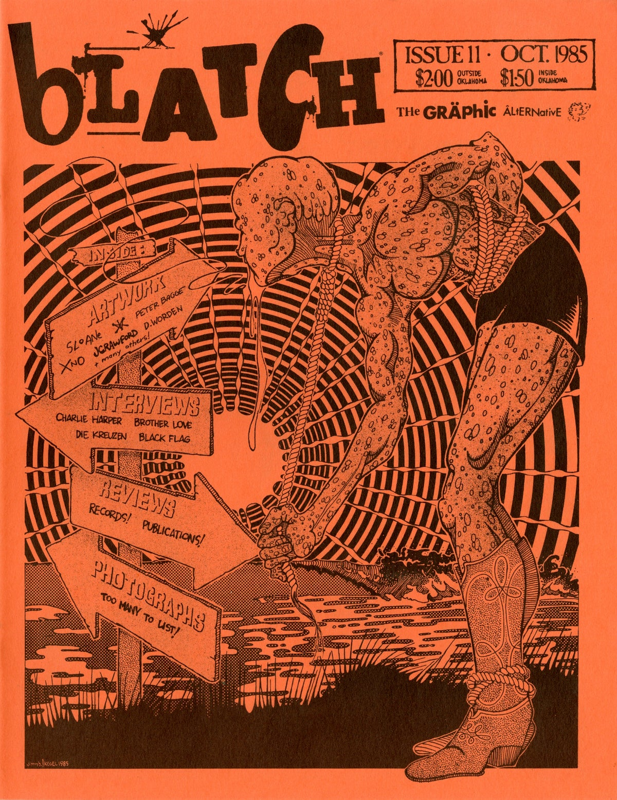 Image of BLATCH #11 punk fanzine