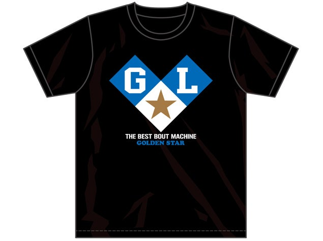Image of 'Golden Lovers' Kenny Omega & Kota Ibushi BLACK T-Shirt