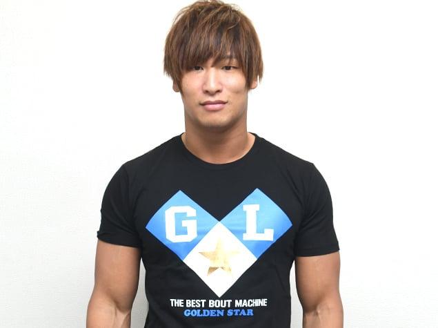 cc1310871fb732 ... T-Shirt; Image of 'Golden Lovers' Kenny Omega & Kota Ibushi BLACK ...